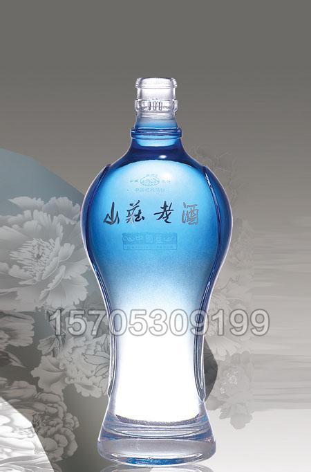 晶白酒瓶-005 500ml